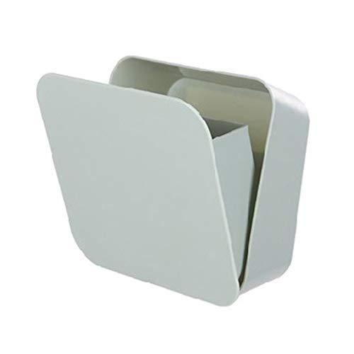 Jinzuke Wasserdicht versiegelt Badezimmer Regal Storage Box Wandhalter Telefon-Kamm-Bürsten-Standplatz-Staub-Beweis-Rack -