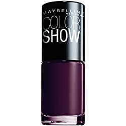 Maybelline Color Show Esmalte de Uñas, Tono: Color Show357 Burgundy Kiss