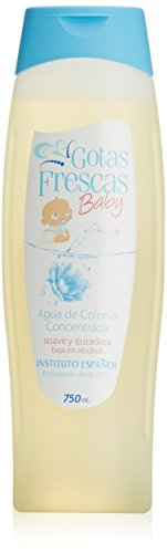 Instituto Español, Gotas Frescas Baby Agua de Colonia, 750 ml