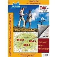 zillertal-tux-finkenberg-1-35-000-luftbildpanorama-und-wanderkarte-wandern-biken-information