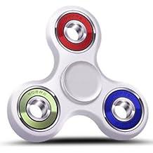 SLB Works Brand New Tri Spinner Figet Spinners Hand Desk Colorful Ceramic BallFocus Toys ADHD Austim