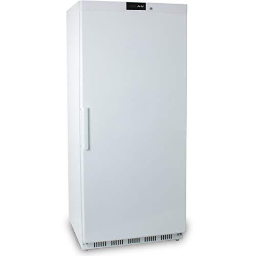 ZORRO - Tiefkühlschrank ECO600F - weiß - Gastro Tiefkühlschrank mit Volltüre - R600A - Gefrierschrank ...