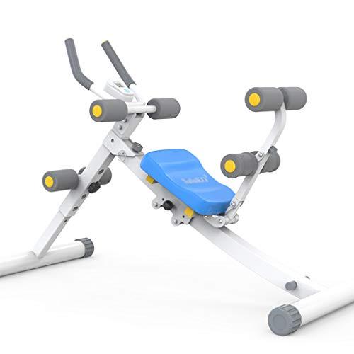 Macchine per addominali addestratore addominale pieghevole macchina per esercizi fisici di cruncher ab sedia multifunzione multifunzione per la perdita di peso ( size : 125x40x81cm )