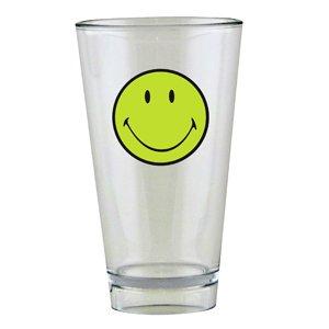 Zak Designs 6662-1402Smiley Glas, 330 ml, Grün/Weiß