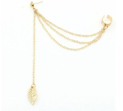 interestingr-sunshine-leaf-tassels-stud-earrings-three-wire-long-dangle-gold-plated-charm-earrings-s