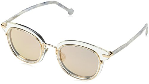 Dior Damen DIORORIGINS2 0J 900 Sonnenbrille, Transparent (Crystal Rose Gd Grey Speckled), 48