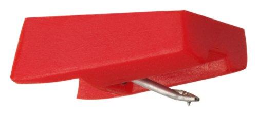 Ricatech ND1805 - Aguja para tocadiscos, rojo
