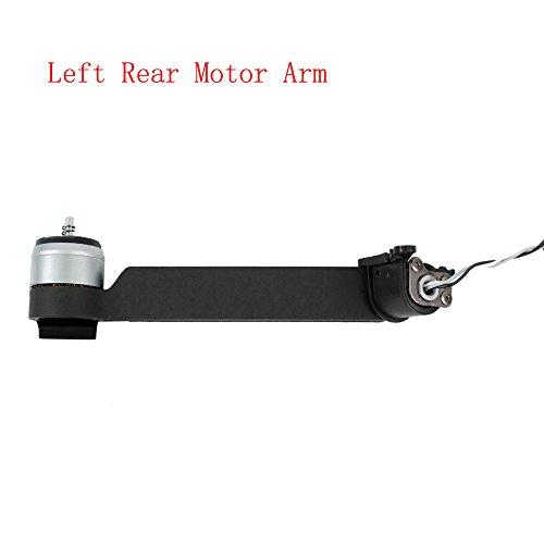 Hunpta Rahmen-Kit links hinten Motor Arm Reparatur Karosserieteile für DJI Mavic Pro Drohne (Grey)
