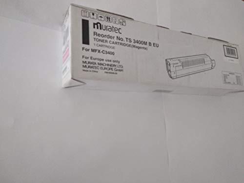 Toner MURATEC MFX-C3400 TS 3400M - Farbe: Magenta - DAUER: 10.000 Seiten A4 (EIN/ISO) - MURATEC SAP Code: 44059222 - MURATEC EAN: 4954318102139 - TONERPRO Produkt Code: ORIG-MFX-C3400-M-10K