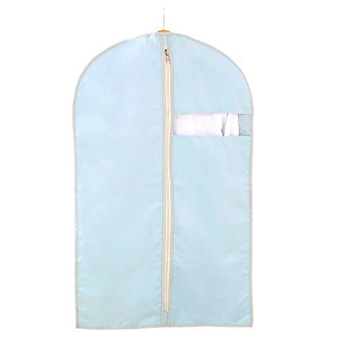 QFFL Sac de compression sous vide Housse anti-poussière pour vêtements, sac à poussière pour vêtements suspendus non tissés, anti-rides domestiques (1 paquet) 8 couleurs Sac de protection