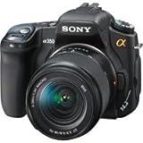 Sony A 350 K SLR-Digitalkamera (14 Megapixel, LifeView, Bildstabilisator) Kit inkl. 18-70mm Objektiv