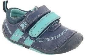 hush-puppies-boys-moo-azul-zapatos-de-prewalker-lentejuela-bowknot-ninos-3-uk-tallachild-35-uk