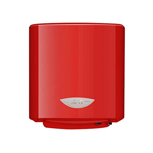 Händetrockner High-Speed Cold & Hot Wind Lufttrockner Smart Automatic Induction Electric 1200w Auto Intelligent Hand Dryer (Color : Red)