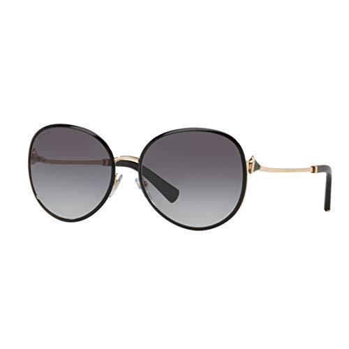 Sonnenbrillen Bvlgari Diva's Dream BV 6106B Black Rose Gold/Grey Shaded Damenbrillen