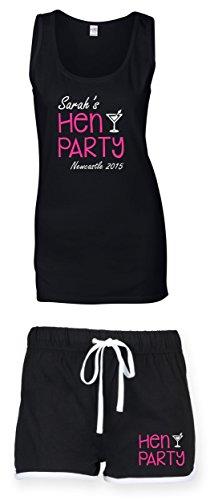 Direct 23 Ltd - T-shirt - Femme noir noir Vest