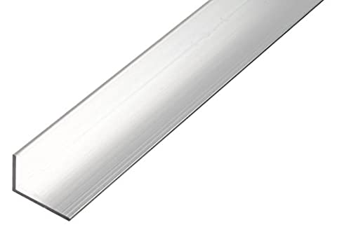 GAH-Alberts 470241 Winkelprofil - Aluminium, natur, 1000 x 50 x 30 mm