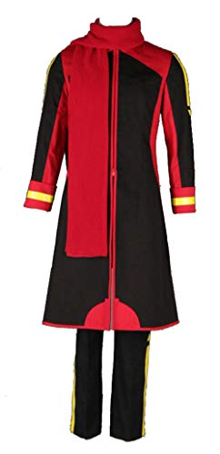 Akaito Cosplay Kostüm - Chong Seng CHIUS Cosplay Costume Outfit for Shion Nigaito Black Version 2