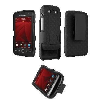 New OEM Verizon Blackberry Torch 9850Shell Holster Combo W/Ständer 9850 Torch