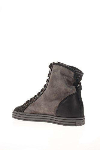 Hogan Rebel Femme Sneaker haute hxw1820d661eja0x T4Sneaker haute R182centurino Piombo/nero