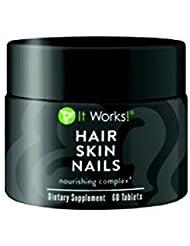 Hair skin nails de la gamme Wrap It Works