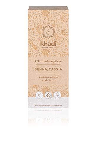 khadi Senna/Cassia (Neutrales Henna) 100g I natürliche Haarkur für gesundes Haar I Naturkosmetik 100{1fd51cc7e87718316f0c1aacd92d8c382a518cfb7defc68808205366c86e00ef} planzlich