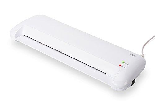 ednet Laminiergerät für DIN A3, ABS, 80-125 Mic, Erhitzung: Mica (Glimmer) Platte, weiß