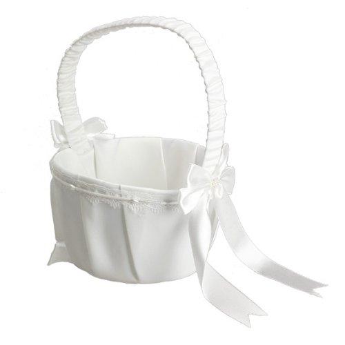 Ueb cestino porta petali matrimonio cestino cerimonia bianco decorazioni per matrimonio feste