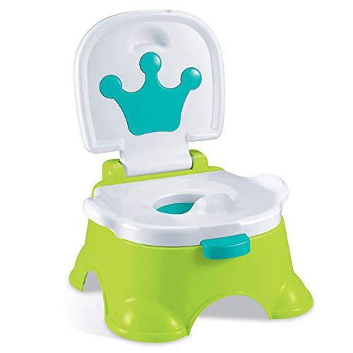 Edelehu Multifunktionale Musik Kinder Toilette Töpfchen Trainings Sitz Kindertöpfchen Rutschfest Mit Splash-WC-Sitz Für Kinder Im Alter Von 1-7