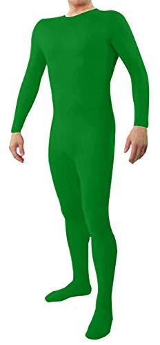 Icegrey Zentai Lycra Spandex Kostüm Bodysuits Ganzkörperanzug Grün M