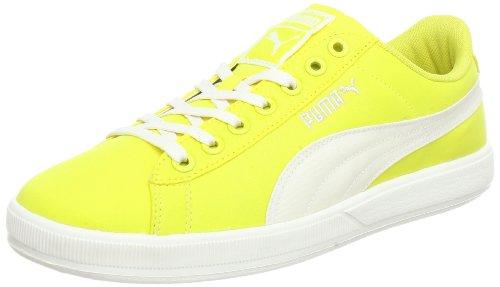 Puma archive lite low nylon rt 355887, sneaker unisex adulto, giallo (gelb (aurora-whisper white 01)), 44.5