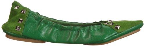 Lise Lindvig 131 217 60, Ballerines femme Vert (Green 60)