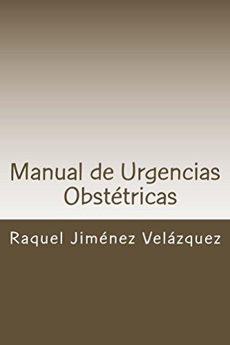 Descargar Libro Manual de Urgencias Obstetricas de Raquel Jiménez Velázquez