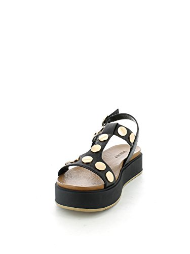 INUOVO 7282 BLACK Sandalen Schuhe Black