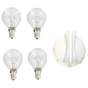 8 x 40W to fit Neff Bosch Siemens AEG Hotpoint 240V SES E14 OVEN COOKER BULB LAMP 300/° Suitable for all these Brand Cookers,