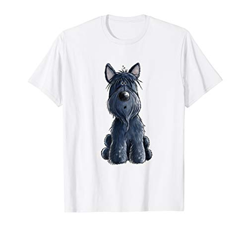 Happy Scottish Terrier Hund T Shirt fürs Frauchen & Herrchen -