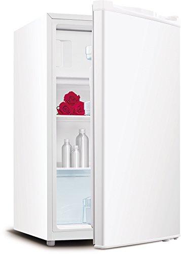 Daya dft-15F freistehend 102L A + Kombi-Kühlschrank–weiß (freistehend, Weiß, Rechts, Rotation, R600A, Glas)