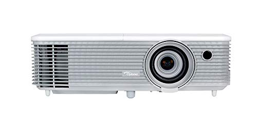 Optoma EH400+  DLP-Projektor (1080p, 4000 Lumen, 22.000:1 Kontrast, 2x HDMI+MHL, 2x VGA, 1x Composite) Weiß 1 X Composite-video
