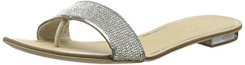 Aldo Women Soffia Open Toe Sandals, Silver (Silver), 4 UK 37 EU