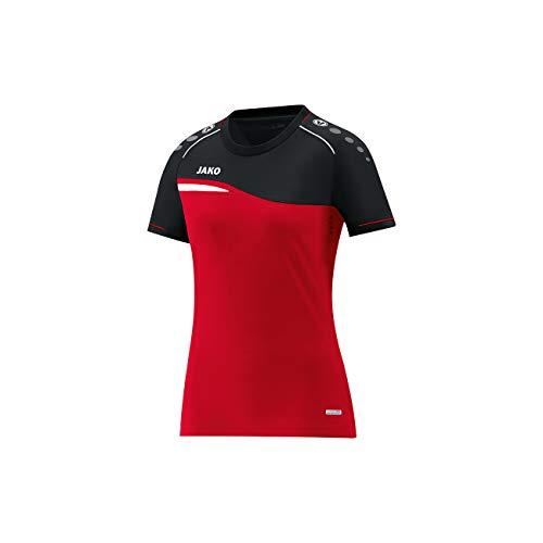 JAKO Herren T-Shirt Competition 2.0, rot/schwarz, XL -
