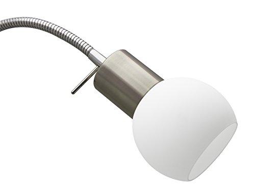 Trango 3 flg. led stehleuchte stehlampe 12.0 watt 3x 350 lumen