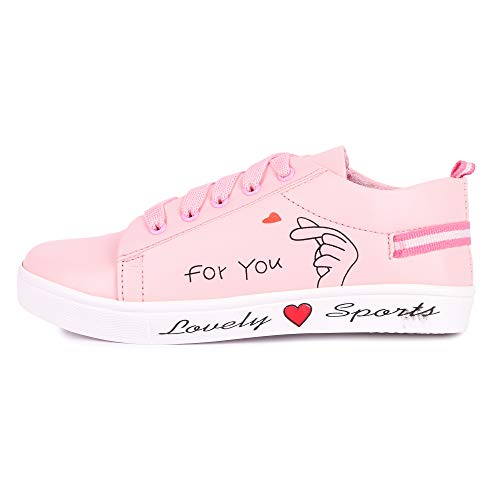 Longwalk Women Casual Sneakers Shoes Pink