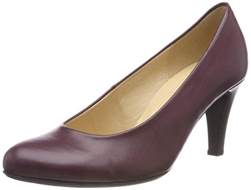Gabor Shoes Damen Basic Pumps, Rot (Merlot 85), 36 EU