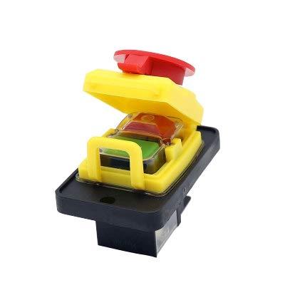 TOOGOO Kjd12 Kontroll Motor Unter Spannung Und überlast Schutz Funktion Not Stopp Wasserdichter Elektro Magnetischer Schalter -