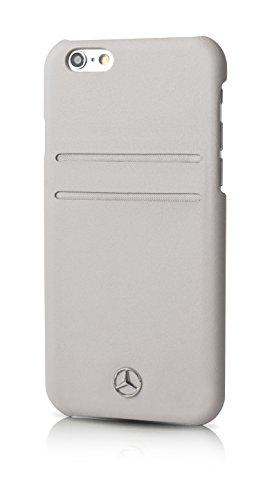 mercedes-benz-pure-line-coque-en-cuir-avec-porte-cartes-pour-iphone-6-6s-gris
