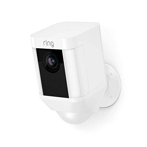 Ring Spotlight Cam Battery | HD Security Camera with LED Spotlight, Alarm, Two-Way Talk, Battery Operated