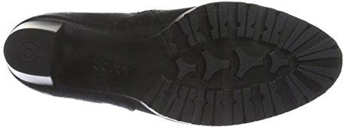 Gabor Comfort Sport, Bottes Classiques Femme Noir (Schwarz (micro) 17)