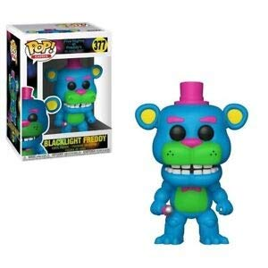 Funko - Five Nights at Freddy's Black Light - Blacklight Freddy Exclusive Pop 10 cm - 0889698341325 Black Night Light