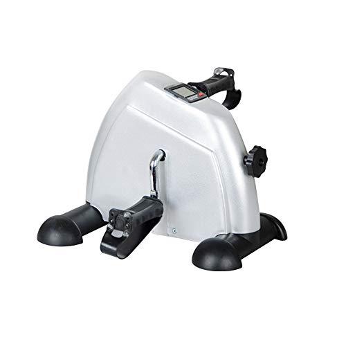 Tragbarer Mini Home Stepper Mini Heimtrainer Pedal Exerciser Arm und Bein Zyklus Heimtrainer Einstellbare Widerstand Jym Fitnessgeräte Für individuelles Sportfitness Workout -