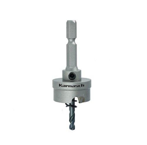Hartmetall-bestückte Lochsäge Lochkreissäge Extra Easy-Cut 3 kompl. mit Schaft, Zentrierbohrer, Auswurffeder; Schnitttiefe 8mm; d=37mm