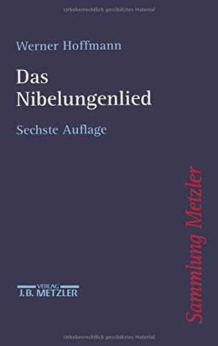 Sammlung Metzler, Bd.7, Nibelungenlied